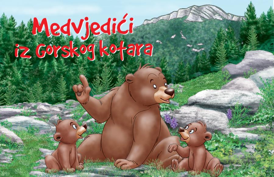 """Upoznajte """"Medvjediće iz Gorskog kotara"""""""